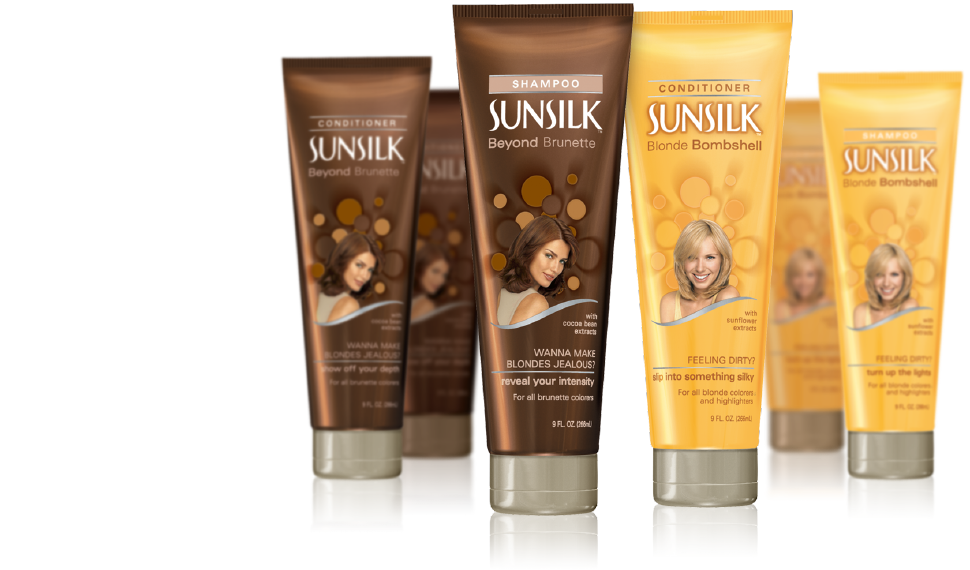 Sunsilk primary packaging - colorful line extension | JOED DESIGN